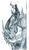 Dragoninja by silentkitty