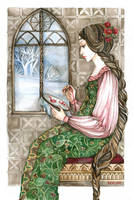 Snow White's mother.. by MaestraRhy