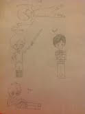 MlgHwnT and friends drawing by Elibuscus