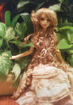 Yvette in garden by Kutiecake