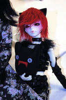 Red haired punk by Kutiecake