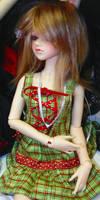 Green dress pretty by Kutiecake