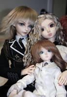 Family of three by Kutiecake