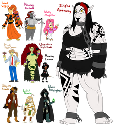 FantasTech - More Colored in Charries by TipsyRa1d3n