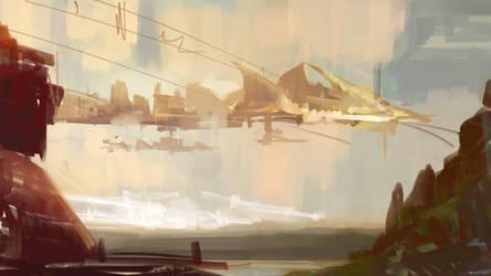 Wind Village by pokepetter
