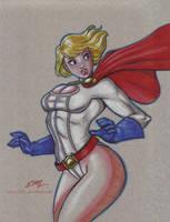 Power Girl by em-scribbles