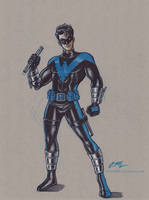 Nightwing by em-scribbles