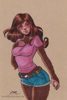 Jess Wolf by em-scribbles