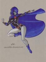 Raven by em-scribbles