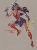 Wonder Woman by em-scribbles