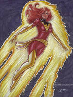 Dark Phoenix by em-scribbles