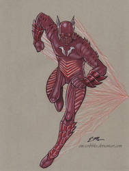 The Red Death by em-scribbles