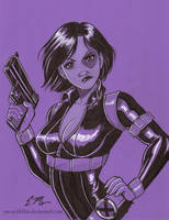 Domino Commission by em-scribbles