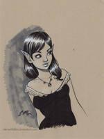 Elf Marker Sketch by em-scribbles