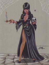 Elvira by em-scribbles