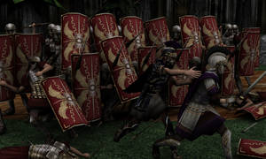 Battle of the Teutoburg Forest by Zagreb-Dubrava