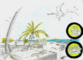 Lost Shores, Iguana Beach Lounge by TitanChief10