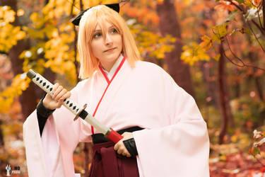 Okita Souji Fate Grand Order 3 by TheSnowDrifter