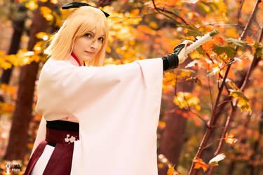Okita Souji Fate Grand Order 4 by TheSnowDrifter
