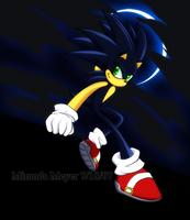 Dark Sonic The Hedgehog by TheSnowDrifter