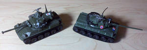 Japanese and French Tank by Panzer-13