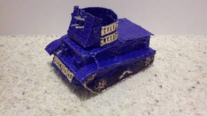 Anti Aircraft Light Tank view 1 by Panzer-13