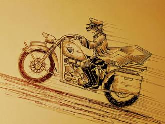 Greyclaw ride by Panzer-13
