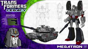 Transformers Legacy: Megatron by CyRaptor