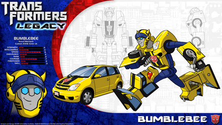 Transformers Legacy: Bumblebee by CyRaptor