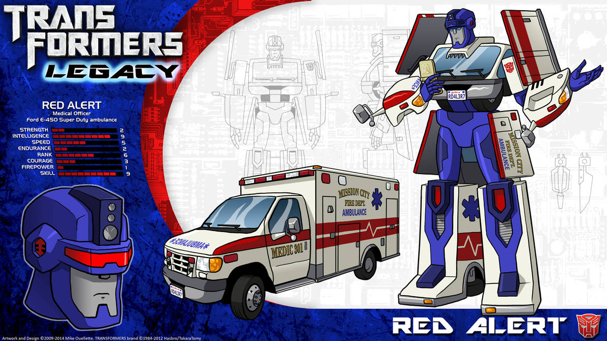 Transformers Animated Red Alert Wwwtopsimagescom