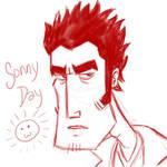 Sonny Sketch by CyRaptor
