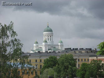 Helsinki Cathedral by EvilBohnenkraut