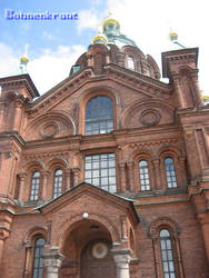 Uspenski Cathedral in Helsinki by EvilBohnenkraut