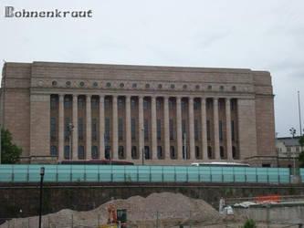 Finnish Parliament by EvilBohnenkraut