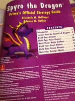 Spyro The Dragon - Prima Guide Book by DazzyADeviant