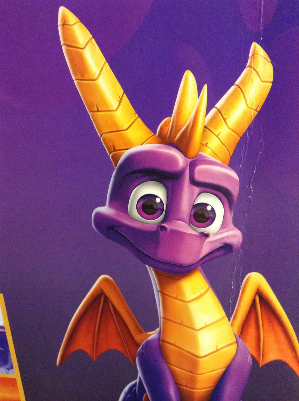 Spyro - Reignited Trilogy Promo Poster Box by DazzyADeviant
