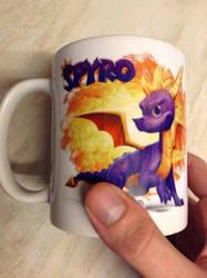 Spyro The Dragon Coffee Mug by DazzyADeviant