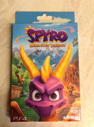 Spyro Reignited Trilogy - Key Ring, Plus Art Cards by DazzyADeviant