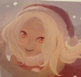 Christmas Kat by DazzyADeviant
