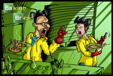 Breaking Bad by Baking Bread? Really? by Dutchmouse