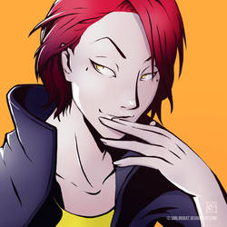 Casual Hisoka by SmilingKat