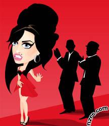 Amy Winehouse by nazaret