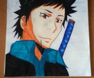 Yamamoto Takeshi _ Kakekyo Hitman Reborn by kobatosama