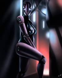 Cyber Girl by Bashelik
