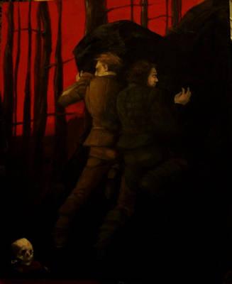 Rosencrantz and Guildenstern.. by Myss-nomer