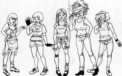 EEnE- Girls by Myss-nomer