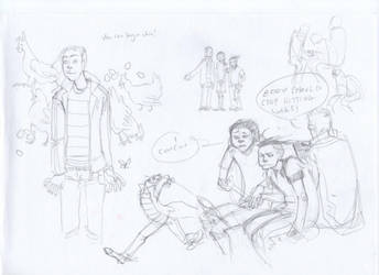 EEnE- poultry sketchdump by Myss-nomer