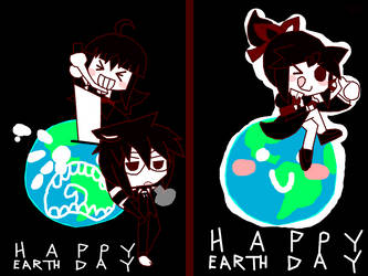 EARTH DAY by Veclair-Terror