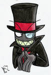 :Bad guy: ~ Villainous - Black hat by Laukku2000