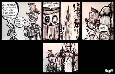 Don't read Waguran's books [comic made by MegiW] by Laukku2000